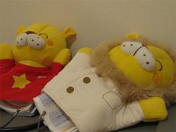 9手袋人形@ひまりクリニック