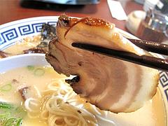 料理:屋台仕込みラーメンのチャーシュー@清陽軒・久留米ラーメン