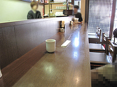 店内:カウンター席@虹の家(ななのや)