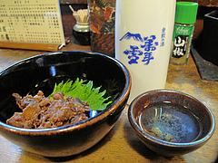 料理:牛すじと日本酒@高田屋・焼鳥・倉敷
