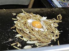 料理:焼うどん製作中4@小倉名物・元祖焼うどん・だるま堂