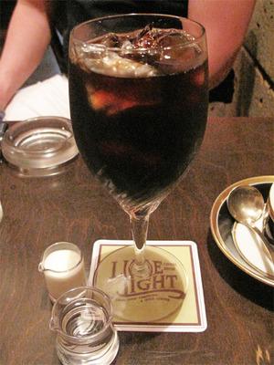 6アイスコーヒー540円@喫茶ライムライト