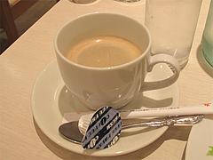 料理:ホットコーヒー@オッジ・ヒロズスタイル・大名
