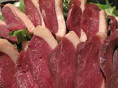 料理:鴨鍋の肉@蕎麦・木曽路