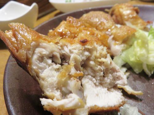11ひな鶏の唐揚げ半身がんみ