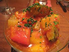 夜:彩り野菜のカポナータ@イタリアン・トラットリア・ ウーノ(Trattoria-Uno)