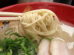 ランチ:ラーメン麺@博多一幸舎・高砂屋台店