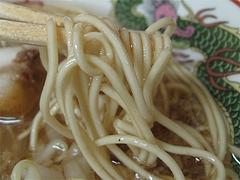 料理:博多豚骨ラーメンの麺@ラーメンかめぞう住吉店