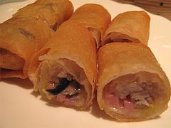 料理(芋頭炸春巻):タロイモ入り春巻き@CHINA(チャイナ)・グランドハイアット福岡・キャナルシティ博多
