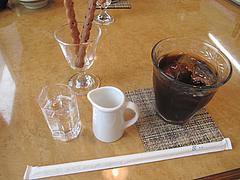 ランチ:アイスコーヒー@はかまだ化粧品店・清川