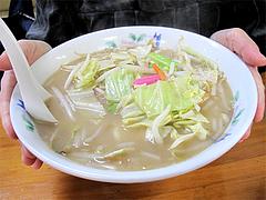 料理:ちゃんぽん520円食べる@タケシタベーカリー喫茶部