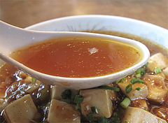 ランチ:麻婆麺スープ@中華料理・蘭蘭・春日