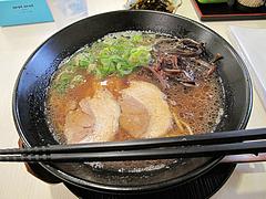 料理:醤油鶏豚骨てんきらーめん500円@麺や・てんき・平尾