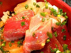 海鮮丼のトロ@福岡・美野島・とろ家