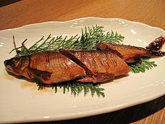 14料理:鮎の甘露煮@居酒屋なごみ・八女の鮎と燻製料理の店・美野島