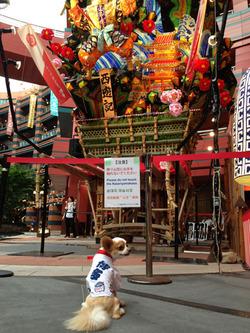 6キャナルシティ博多・飾り山@アンディ・水法被・リリコピリカ