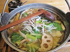 料理:野菜万歳めんちゃんこ冬味740円@博多めんちゃんこ亭・ボックスタウン箱崎