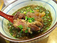 ランチ:バラ軟骨チャーシュー@つけ麺・麺屋・光喜・福岡