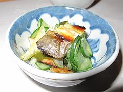 5料理:鮎とキュウリとワカメの酢の物@居酒屋なごみ・八女の鮎と燻製料理の店・美野島