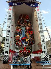 飾り山@渡辺通一丁目・博多祇園山笠祭り