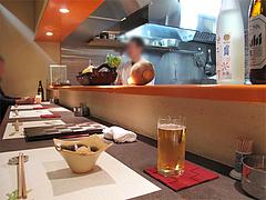 4店内:カウンター@蓮(REN ・れん)・春吉・柳橋連合市場