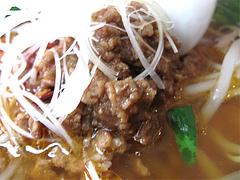 料理:台湾ラーメン肉味噌@点心楼・台北・薬院店