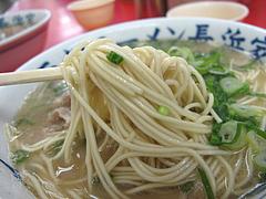 ランチ:カタ麺@元祖ラーメン長浜家・大手門