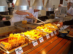 天ぷらコーナー@丸亀製麺