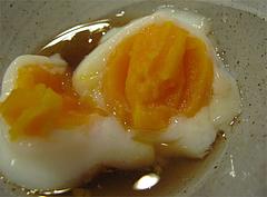 料理:日替わりセットの温泉卵@博多伽哩家かかろっと