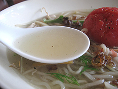 10ランチ:キッチングリーン特製ヌードル・鶏がらスープ@kitchen green(キッチングリーン)・別府