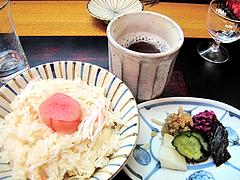 料理:蟹飯と明太子@日本料理・花柚(はなゆう)・倉敷