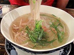 料理:フォー・ガー780円@ベトナムカフェ&レストラン・ゴンゴン