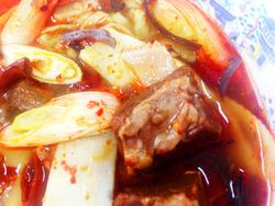 19四川牛肉麺がん見@中国大明火鍋城