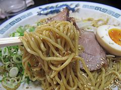 12ランチ:油そば麺@ラーメン・麺屋一矢・住吉店