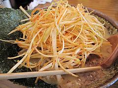 料理:江戸前味噌肉ネギらーめんのネギ@蔵出し味噌・麺場・彰膳・東福岡店