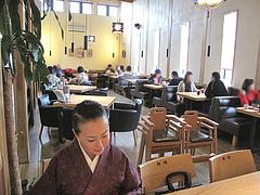 2店内:テーブル席@キッチン良い一日・長尾店