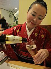 8料理:ノンアルコールビール@居酒屋なごみ・八女の鮎と燻製料理の店・美野島