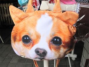 30犬顔バッグ@ちりきらルーム