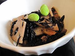 料理:ひじきの煮物@梅山鉄平食堂