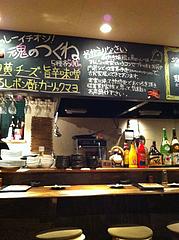 2店内:カウンター席@焼鶏工房めっしー・焼鳥・高砂