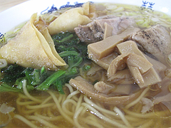 5ランチ:豚角煮ラーメンアップ@黄金福ワンタンまくり・西長住店