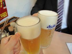 4生ビール@大名ちんちん赤坂本店