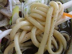 タンタンチャンポンの麺@ちー坊の食堂屋形原店