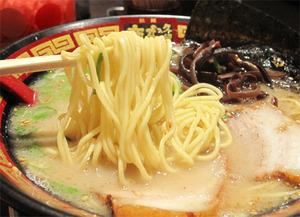 12ホンダラーメン1号(純味)麺@本田商店キャナル