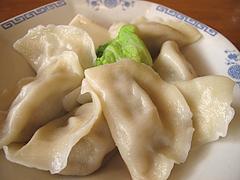 料理:水餃子全景@好吃餃子(ハオツーギョウザ)