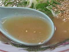 料理:ラーメンスープ@福一ラーメン・博多区那珂