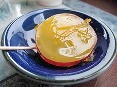 料理:さつまいも柚子ジャムかけ@台湾飯店・野間