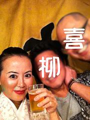 3店内:カウンター@博多っ子純情屋台・喜柳