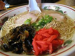11メニュー:ラーメントッピング@白龍食堂・那珂川