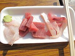 料理:刺身100円@うまかもん祭り・柳橋連合市場